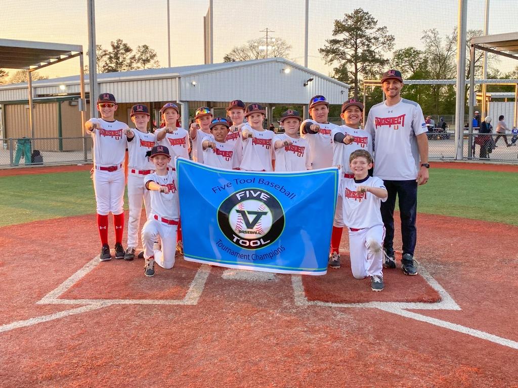 Prospect U Houston V Tool Tournament Champions at Premier Baseball of Texas.